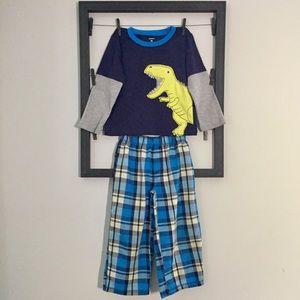 Carter's Toddler boy T-Rex pajama set 4T